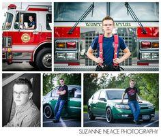 Firefighter senior portrait inspiration