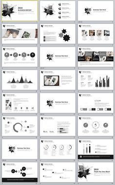 23+ annual professional powerpoint template download | the highest, Modern powerpoint
