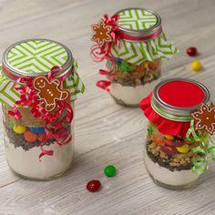 How-To Make Cookie-Mix Jar Gifts