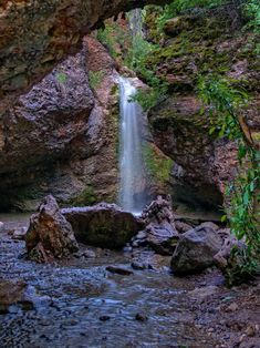 Grotto Falls Payson Canyon Payson Arizona, Payson Az, Tempe Arizona, Arizona Road Trip, Arizona Travel, Places To Travel, Places To See, Utah Hikes, Get Outdoors