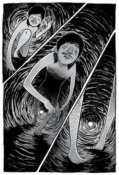 Creative Comic Strip: The Tunnel by Ryan Andrews Comic Manga, Comic Art, Comic Book, Comic Tutorial, The Art Of Storytelling, Graphic Novel Art, Evil Art, Short Comics, Manga Artist
