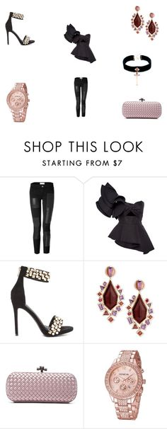 """Friday Night"" by panicsam ❤ liked on Polyvore featuring Each Other, Johanna Ortiz, Stephen Webster, Bottega Veneta and VSA"
