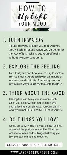 How to Improve Your Mood | We all go through low moods – but it's about arming yourself with the tools you need once you're ready to conquer it. Here are 4 tips to help you feel better and find your way back to happiness.|mental health| uplift your mood | improve mood articles | improve mood life | personal growth | positive mindset | self-improvement | #positivethinking #mindset #happy