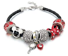 We love Disney and are excited to celebrate Minnie Mouse with fun beads that capture her classic style.