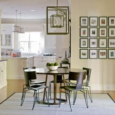 Greenwich, CT, Home I - contemporary - dining room - new york - S. B. Long Interiors