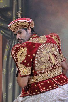 Traditiona outfit of Sri Lanka.