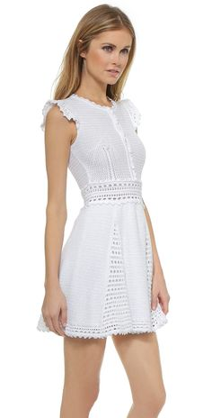 RED Valentino Crochet Dress | 15% off first app purchase with code: 15FORYOU