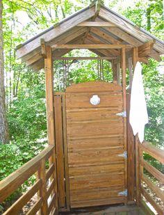 Outdoor Shower Enclosures Stalls Kits Cedar Pvc Sauna