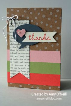 Hip Hip Hooray for Card Kits; Add your own twist with additional product.