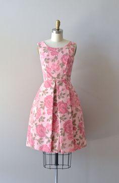 vintage 1960s dress / floral 60s party dress / Love by DearGolden, $120.00