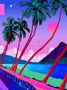 Actualize your musical creations with the cutting-edge cross-media solutions of Aesthetics Corp. Vaporwave Wallpaper, Iphone Wallpaper Tumblr Aesthetic, Aesthetic Wallpapers, Psychedelic Art, Neon Aesthetic, Aesthetic Space, Cyberpunk Aesthetic, Vaporwave Art, Glitch Art