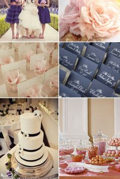 Navy and blush wedding colors? :  wedding Navy And Blushh