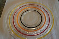 Vintage Anchor Hocking Banded Ring 11 1 2 Dinner Sandwich Plates 5 | eBay