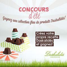 Avez-vous déjà vu notre concours de l'été? Participez et gagnez une sélection des meilleurs produits Daskalidès! #daskalidès #belgian #chocolate #chocolat #chocolade #cocoa #cacao #daskalides #ganache #sweet #praline #bonbon #coffee #belgium #belgian #belge #quality #chocolatier #gift #love #chocoholic #aroma #koffie #café #win #contest #gagnez #competition #recette #cuisine