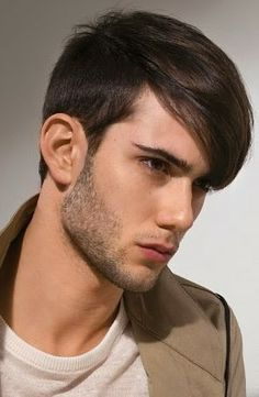 Men's Short Hairstyles with Bangs 2014