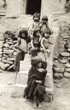 Hopi Indian children