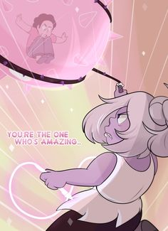 "Fanart for the cartoon, Steven Universe. episode, ""Steven vs. Amethyst."