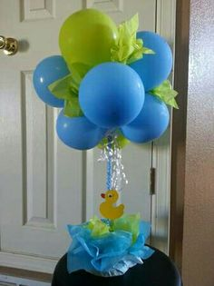 Centerpieces for baby shower