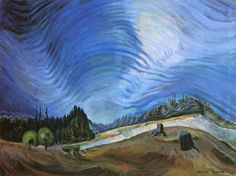 Emily Carr, Above the Gravel Pit, Vancouver Art Gallery, Canada. Wikimedia Commons Art for Climate Change: Emily Carr, Odds and Ends Tom Thomson, Canadian Painters, Canadian Artists, Emily Carr Paintings, Group Of Seven Paintings, Gravel Pit, Vancouver Art Gallery, West Art, Post Impressionism