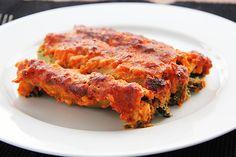 Cannelloni ricotta spinazie