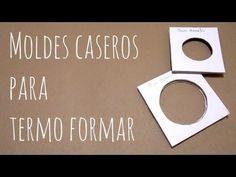 ▶ Como hacer moldes caseros para termo formar - YouTube