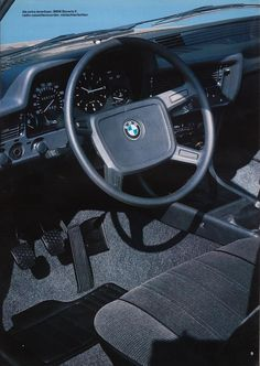 Pages from a Dutch brochure for the BMW 315