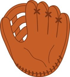 baseball clip art | Leather Baseball Mitt