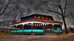 abandoned Williams Grove Amusement Park in Mechanicsburg, PA