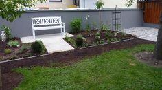 reihenhaus terrasse mit neuem gesicht pflanzplan reihenhaus und blumenbeete. Black Bedroom Furniture Sets. Home Design Ideas