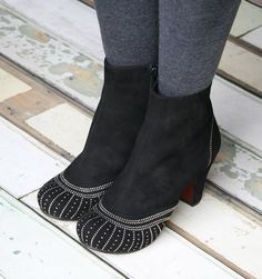 Pera Black Boots   Chie Mihara