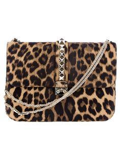 Valentino leopard shoulder bag - LOVE is an understatement