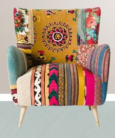 Bokja Chair   Certainly Colorful (Bokja Design Created By Eclectic  Gipsyland)
