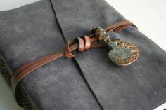 Beautiful handcrafted leather journal $125