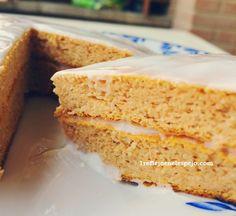 mi reflejo de la 48 a la 36: Carrot Cake Fit II