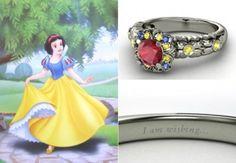 Pour une demande en mariage de princesse, voici les bagues de fiançailles Disney