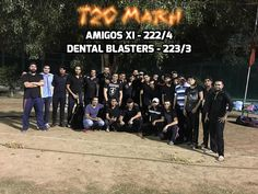 A well Played Cricket Match. T20 - Amigos XI(222/4) Vs Dental Blasters(223/3) Thrilling Victory by the Passionate professional dentists  #DentalBlasters #DentistsCricketTeam