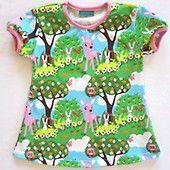 Lyhythihainen mekko, Bambi - UUTUUDET - Sampsukka, koko 110 cm. 23,90 €