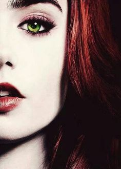 I miss having red hair..I have green eyes & when I had red hair Cody called me poison ivy! Lol