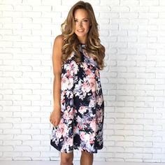 Floral Affair Shift Dress
