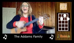 Addams Family Ukulele by 21 Songs in 6 Days: Learn Ukulele the Easy Way..To learn how to play the ukulele in easy ways visit us at - http://ukulele.io/free-stuff-offer/