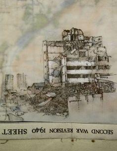 Sarah Taylor-Silverwood... great urban drawings