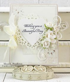 Beautiful card by Mona, featuring the A Day in May collection