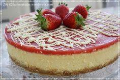 cheesecake – Lezizsofralar'a Hosgeldiniz - - cheesecake – Lezizsofralar'a Hosgeldiniz safo 34 cilek soslu Vegan Cheesecake, Strawberry Cheesecake, Fudge, Sauce, Cheesecakes, Cake Pops, Brunch, Dessert Recipes, Food And Drink