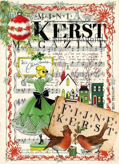 Mini kerstmagazine | BY KRIS Een 16 pagina's tellend mini magazine met ruimte om je eigen kerstwens te schrijven. Nu te koop voor slechts €1,00 per stuk of tien voor €7,95.