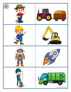 Kindergarten Math Worksheets, Preschool Activities, Body Parts Preschool, Illustrations And Posters, School Projects, Games For Kids, Montessori, Transportation, Teaching