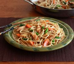 This recipe for Teriyaki Chicken Noodles is simple, quick, and thoroughly delicious. Guaranteed to become a family favorite.