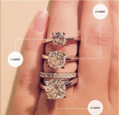 A guide in carat size! A 1-5-1.8 would be a dream come true.