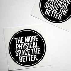 Physical Space Sticker Anxiety Awareness Mental Health 3
