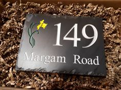 Who would like to find a new Welsh slate house sign under the Christmas tree?  Order yours at www.valleymill.co.uk/products/signs