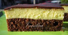 Najbolji mi je u vrelim letnjim danima dobro rashlađen. Potrebno je: Testo: 4 jaja,4 kašike šećera,4 kašike ulja,3 kašike kakaa,3 kaši... Cake Recipes, Dessert Recipes, Croatian Recipes, Vanilla Cake, Ham, Cupcake Cakes, Cupcakes, Biscuits, Cheesecake